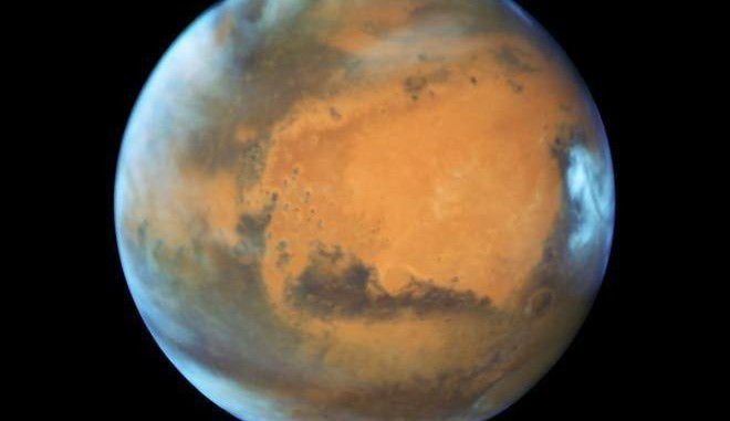 Mars taken from the Hubble