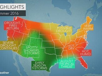 Summer 2016 weather forecast