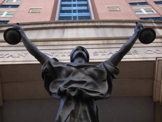 Justice, Albert V. Bryan District Courthouse, Tim Evanson