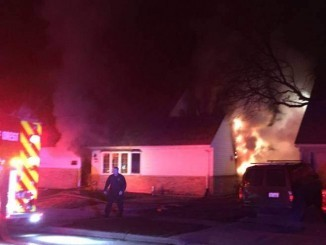 Fire on Winnebago Street
