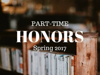 PSC 2017 part-time honors