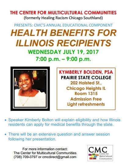 Health benefits for Illinois Recipients