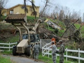Puerto Rico hurricane clean up