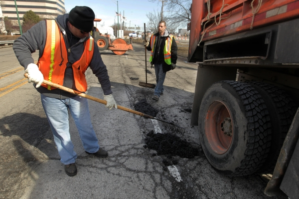 Chicago potholes