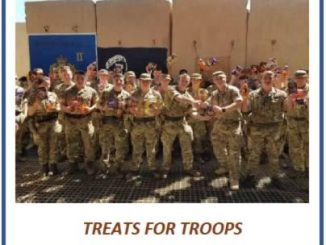 Treats for troops, Kiwanis of Park Forest