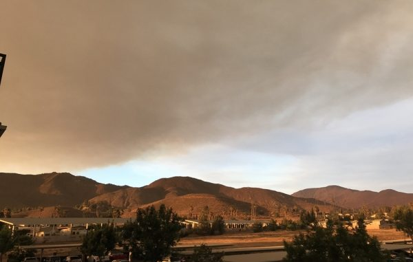 Amoke from CA Wildfires