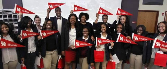 Fourteen Southland College Prep seniors admitted to the University of Houston