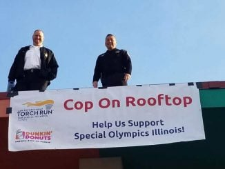 Cop on a rooftop, aggravated speeding, Park Forest Police, PFPD