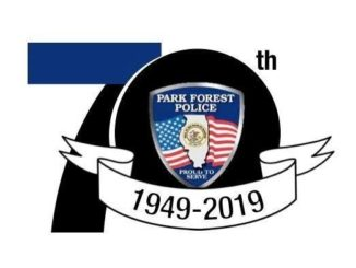Park Forest Police 70th Anniversary logo
