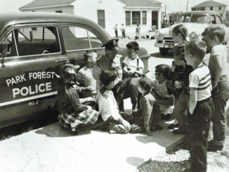Park Forest Police in 1949