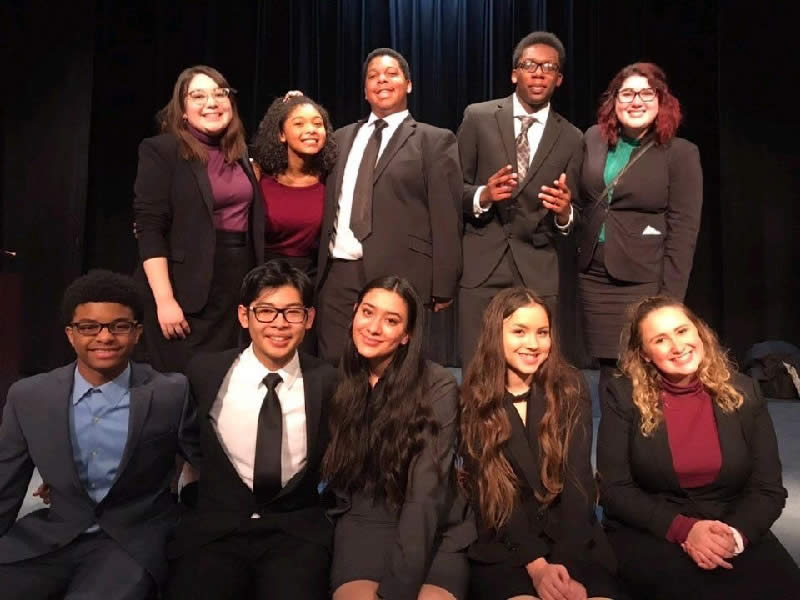 The Performance in the Round Cast, Journey of the Sparrows, Marian Catholic