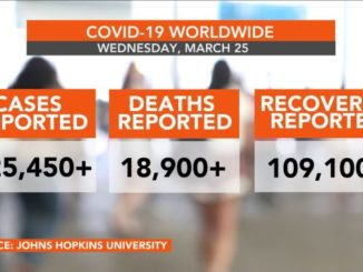 COVID-19 cases worldwide