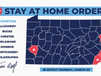 STAY AT HOME order for Pennsylvania