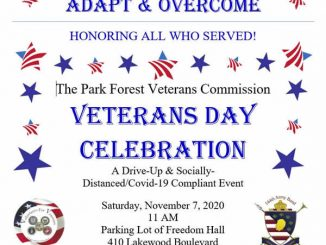 Veterans Day Celebration in Park Forest